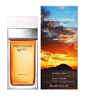 Light Blue Sunset In Salina Dolce & Gabbana 3.3 Oz Edt Spray Women Perfume 100ml on sale