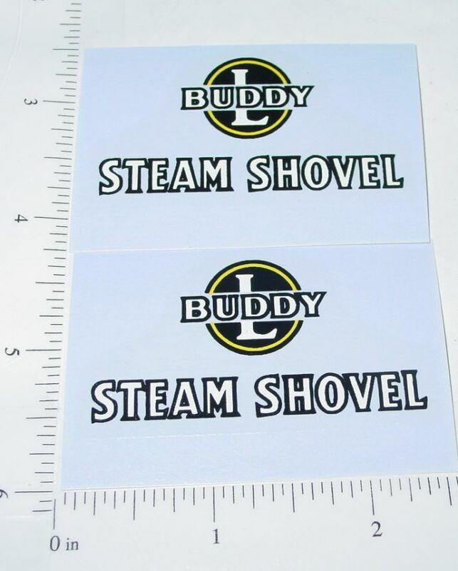 Buddy L Highway Maintenance Sand Loader Stickers                 BL-197