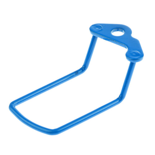 Bike Rear Transmission Derailleur Mech Protector Rack Tool Gear Guard Blue