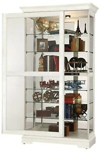 Howard-Miller-680-639-Tyler-IV-White-Curio-Cabinet-w-Sliding-Door-680639