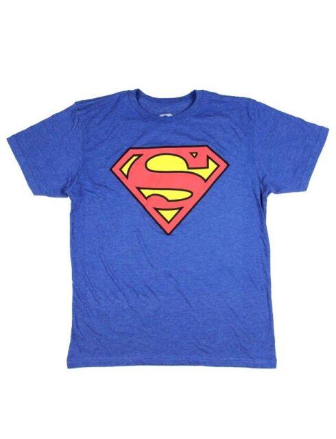 Superman DC Comics Scottish Flag Shield Adult Heather T-Shirt Tee