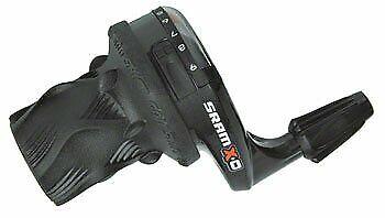 SRAM X0 3 x 9 Speed Twist Shifter Set Left Shifter is Microfriction