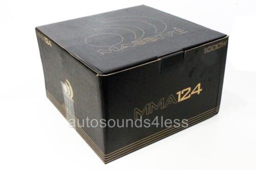 "Massive Audio MMA124 MMA Series 1000 Watts 12/"" Dual 4 Ohm Car Audio Subwoofer"