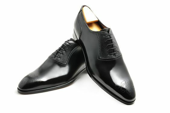 Hombre HANDMADE Negro BROGUE FOR FORMAL REAL QUALTIY LEATHER Zapatos FOR BROGUE Hombre b69d04