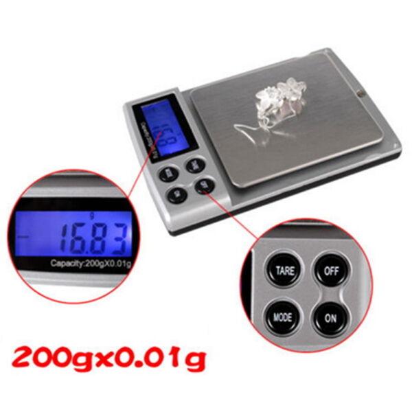 Digital Pocket Weighing Balance 300g/0.01g 2000g/0.1g 500g*0.01g Lot Fy Entlastung Von Hitze Und Sonnenstich