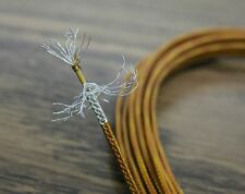 10 feet 24 AWG Shielded Silver Plated Kapton Wire Coax