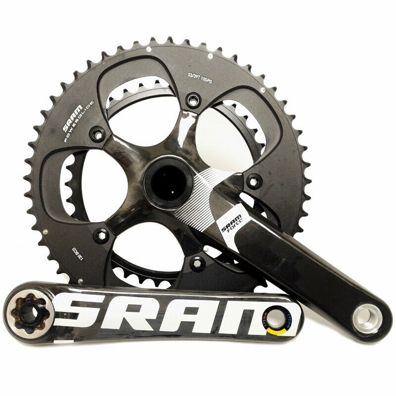 SRAM Force BB30 Road Cycling Crankset - 175 39-53 - 2012 -