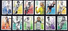 Australia 2016 Australian Legends of Singles Tennis  Set of Stamps S/A P Used
