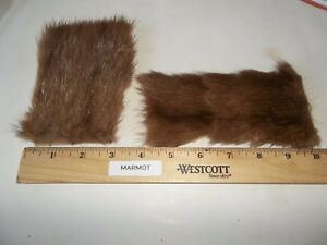 Marmot-AKA-Groundhog-Patch-for-Fly-Tying-Size-Large
