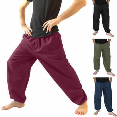 Details about Summer Womens Hippie 34 Pant Loose Fit Baggy Harem HOT Pants Trouser Size S 5XL