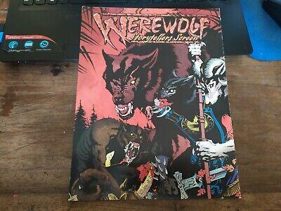 Werewolf Apocaplypse Storytellers Screen Schermo Del Masters Vintage