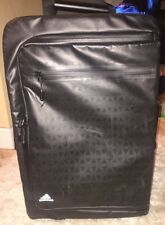 Adidas black carry on suitcase