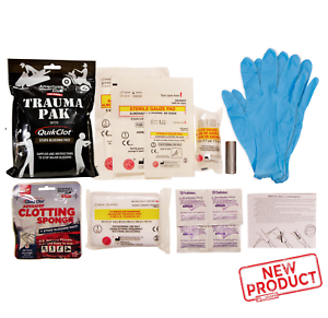 Emergency First Aid Kit Medical Professional Survival Tactical Outdoor EMT NEW