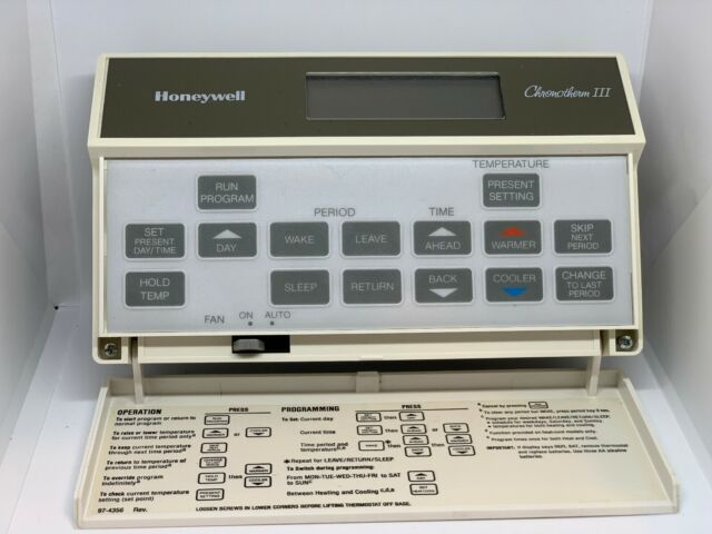 Honeywell Thermostats T8602b1014 9806 Chronotherm Iii 97