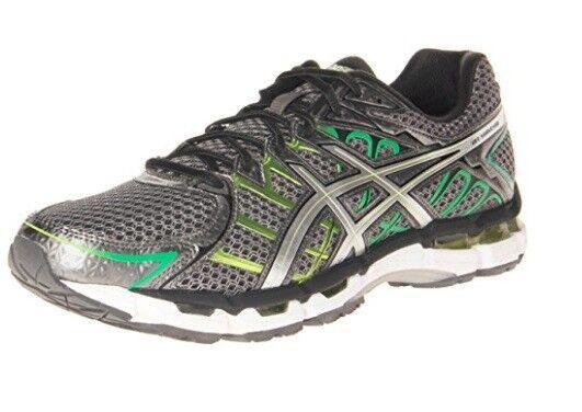 Asics Gel Surveyor 2 Titanium Lightning Lime Running shoes 7 Mens New
