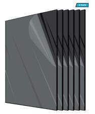 Plexiglass Acrylic Black Color 18 X 12 X 12 Plastic Sheet Pack Of 6 Pieces