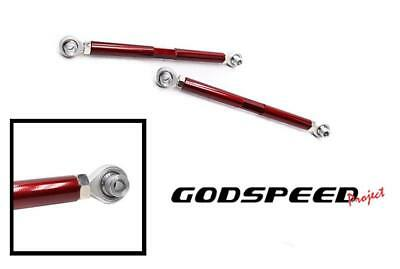 GSP ADJUSTABLE REAR CAMBER ARM KIT FOR 08-13 BMW 1 SERIES E82 E88 GODSPEED