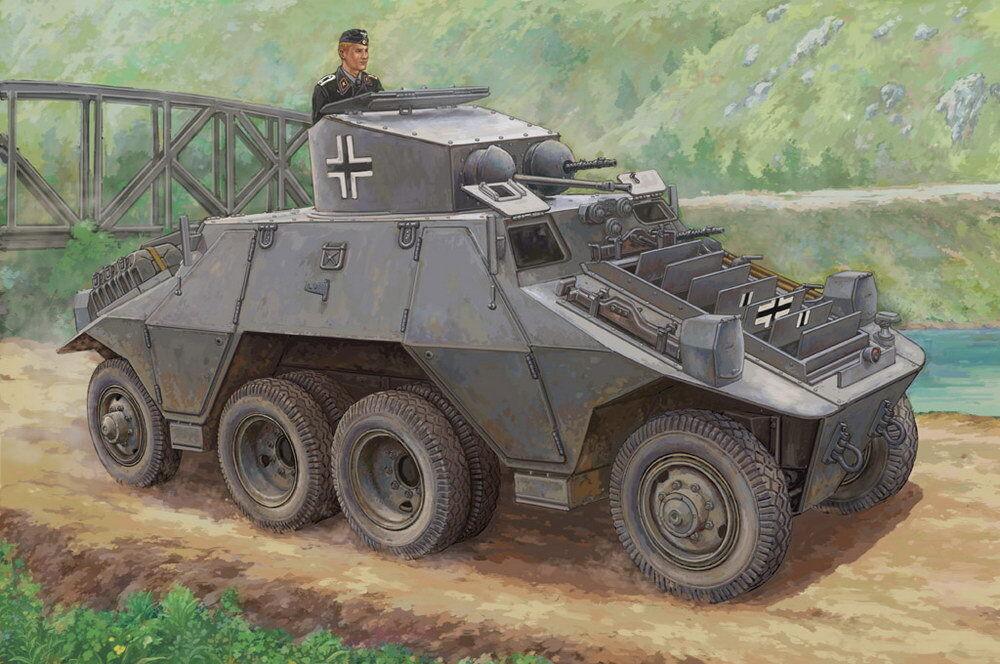 HobbyBoss Models 1 35 Austrian Army M35 Mittlere Panzerwagen (Steyr ADGZ)