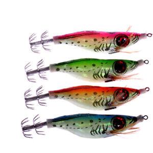 3D-Shrimp-10cm-Fishing-Lure-Luminous-Prawn-Flick-Bait-Squid-Jig-Hook-Tackle-CAL