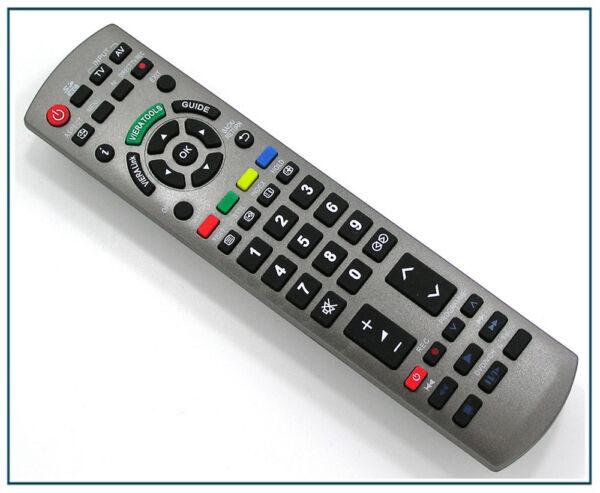 Télécommande De Remplacement Pour Panasonic Tv Tx-l37gw20 Tx-l42e30 Tx-l42g20 Riche Et Magnifique