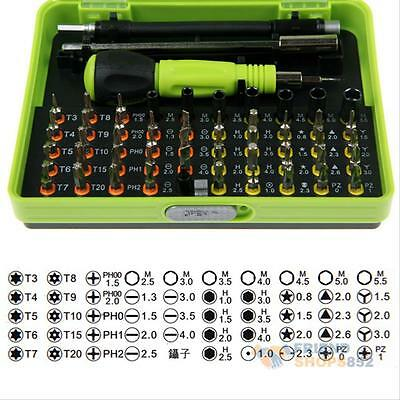 53 in1 Multi-Bit Precision Torx Screwdriver Tweezer Cell Phone Repair Tool Set