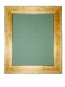 GOLF-BALL-MARKER-DISPLAY-FRAME-63-Worm-WALL-HANGING-ONLY-NEW