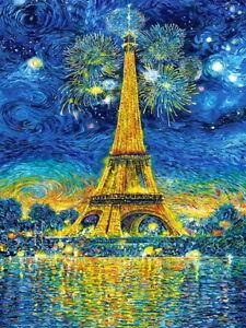 """Puzzle 1500 pieces 68*47cm. """"PARIS CELEBRATION """" Castorland C-151851"""