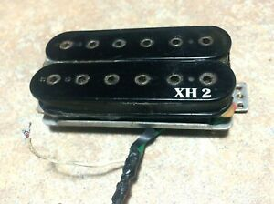 Black-Vintage-1980s-Ibanez-XH-2-Electric-Guitar-Neck-Humbucker-Pickup