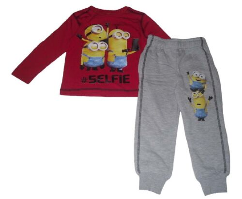 Boys Tracksuit  Or Jog Set 2 Piece Set Minions 2-8 Years