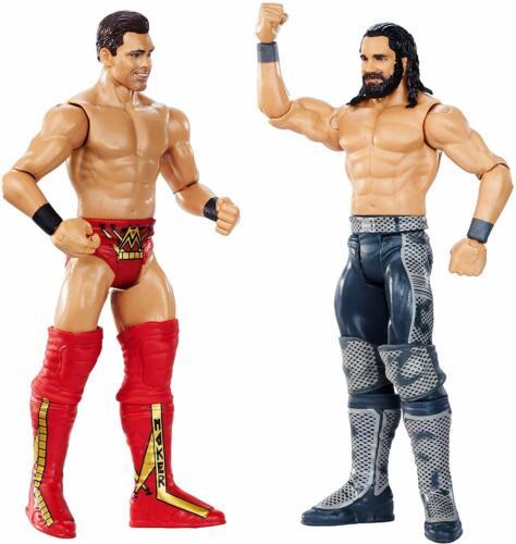 WWE combat Seth Rollins vs The Miz Pack combat action figures