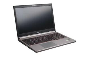 "Obligeant Fujitsu Lifebook E754 15,6"" Notebook/i7-4702mq, 4 Go, 240 Go Ssd/1080p #10-afficher Le Titre D'origine"