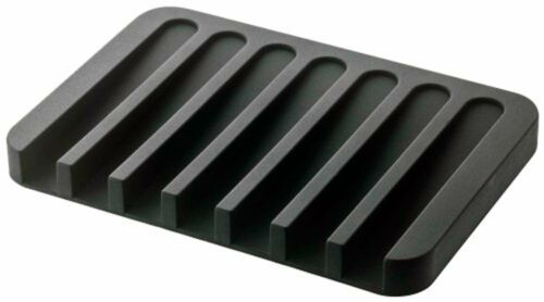 Yamazaki soap tray flow black 7398 Free Shipping with Tracking# New from Japan