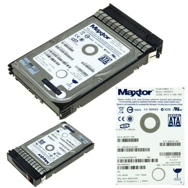 "HDD HP 395501-001 SATA 500GB 16MB 3.5"" 395474-001"