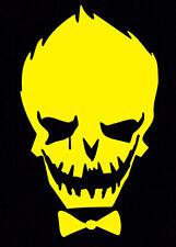 Yellow Joker Decal Car Sticker Laptop Dc Comics Harley Quinn Suicide Squad