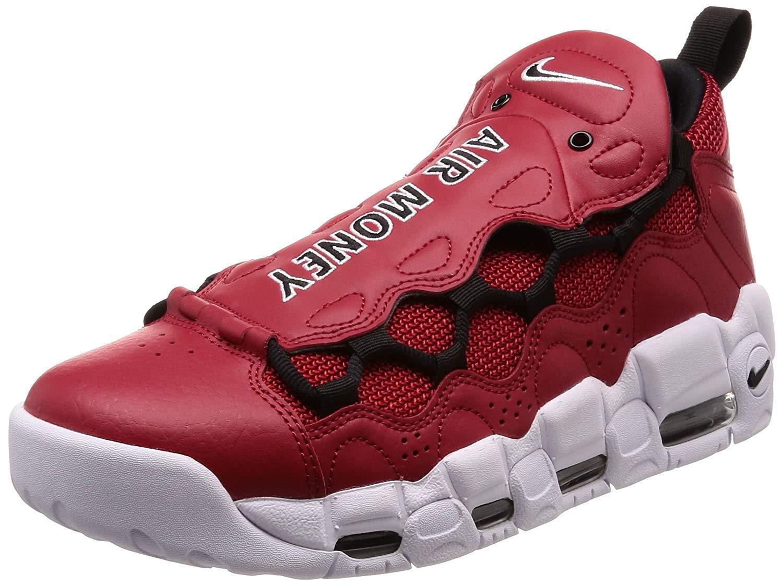 Nike Air More Money Gym Red Black-White (AJ2998 600)