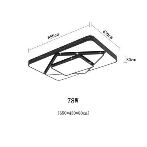48W-90W LED Deckenleuchte Deckenlampe Wohnzimmerleuchten Schlafzimmerleuchten