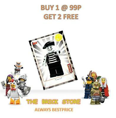 LEGO BESTPRICE #120 MIME CREATE THE WORLD TRADING CARD GIFT NEW