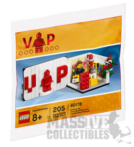 ae182a187af65 LEGO 2017 Iconic VIP member exclusive Set 40178 Shop New SEALED ...