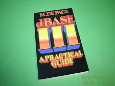 Dbase III [database Management System] una guida pratica libro tascabile (1985)