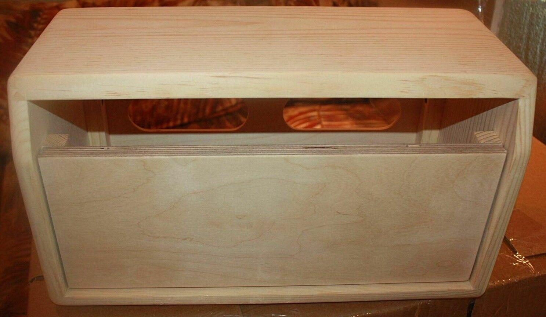 Rawcabs Ri  Era Super Champ pine dovetail joint head cabinet