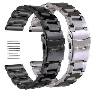 18-19-20-21-22-23-24-25mm-Acciaio-Inox-Watch-Band-Strap-per-MK-Watch-Band