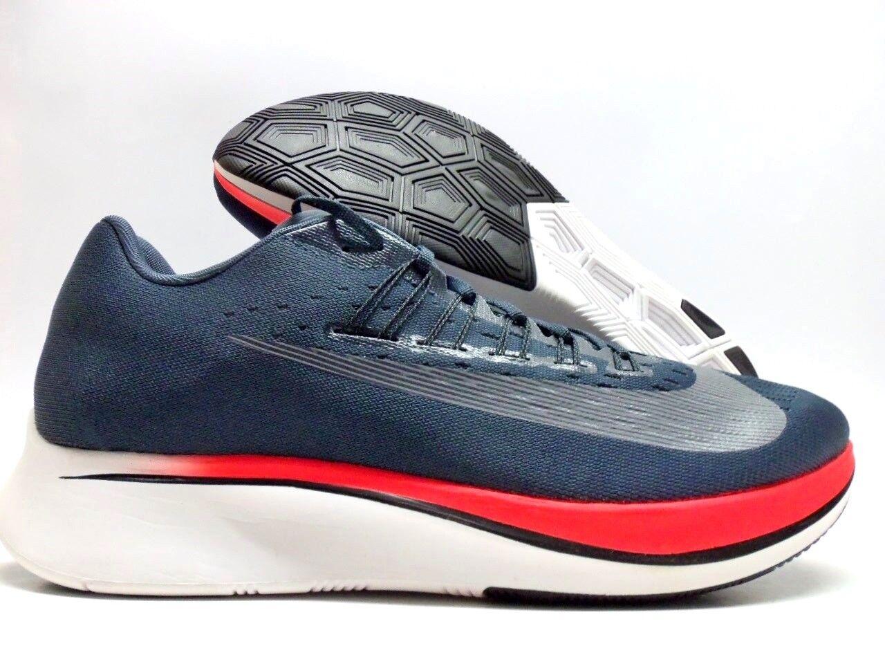 Nike zoom fliegen Blau fox / schwarz-bright crimson größe männer männer männer 12 [880848-400] 10c762