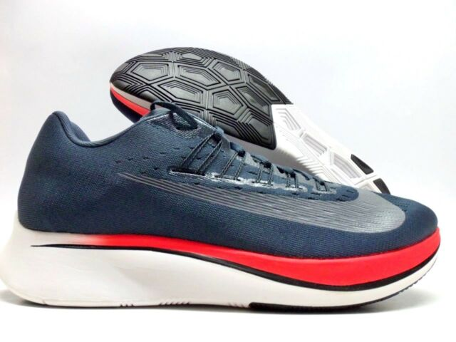 4acbad710ff5 Nike Zoom Fly Blue Fox-black-bright Crimson 880848-400 Mens Sz 8 for ...