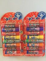 2 X 8 Lip Balm Smacker Cherry Vanilla Coca Cola,fanta Grape Orange,sprite,barqs
