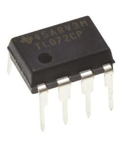 Dual Rail Supply 14-Pin PDIP 4MHz Quad Op Amp 2 x STMicroelectronics LF347N