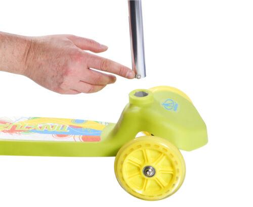 Hudora TINYTURN Enfants Scooter Roller Enfant Tricycle Trottinette Enfants Scooter