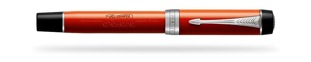 Parker Duofold Duofold Duofold Classic Grande Rosso Vintage Penna Stilografica M Pt Interno 3b5f97