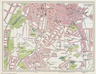 OLD ORDNANCE SURVEY MAP TIDWORTH 1936 TIDWORTH BARRACKS ASHDOWN HOUSE