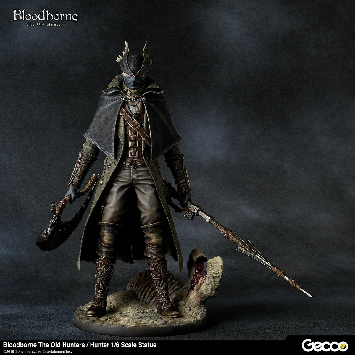 Gecco Bloodborne  The Old Hunters  Hunter 1 6 Scale Statue New