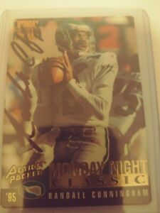 Autograph Lot Randall Cunningham '95 Action Packed/Keith Byars Auto Edge '92/...